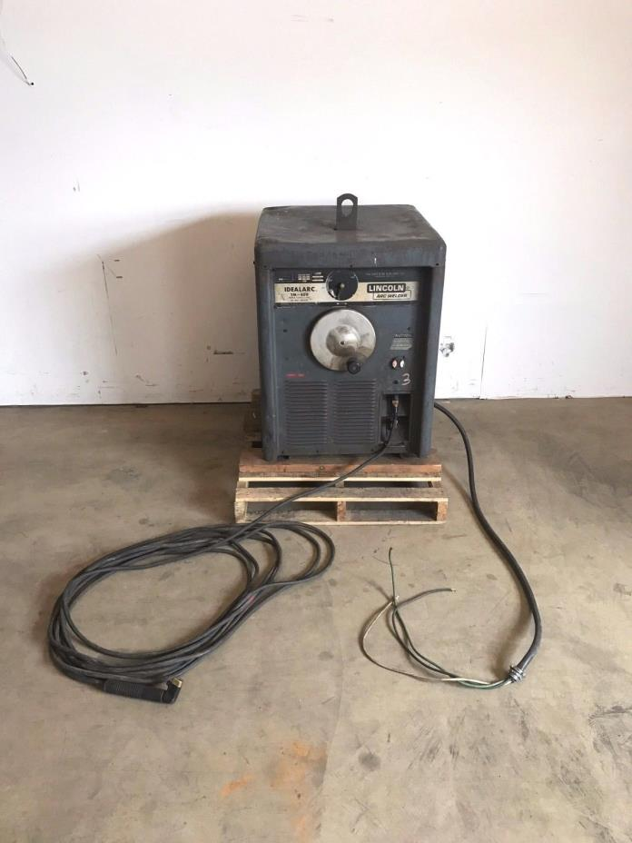 Lincoln Electric IDEALARC TM-400 AC ARC Welder, 400A, 230/460V, Welding Machine