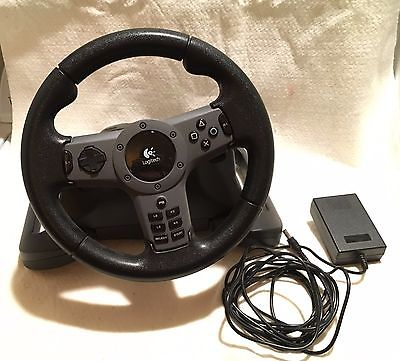 Logitech E-X5D12 Driving Force Wireless™ for Playstation Steering/Racing Wheel