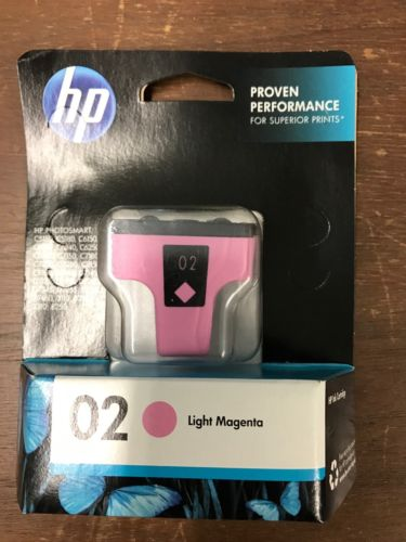 HP 02 Light Magenta Pink C8775WN Inks GENUINE Ink Cartridge