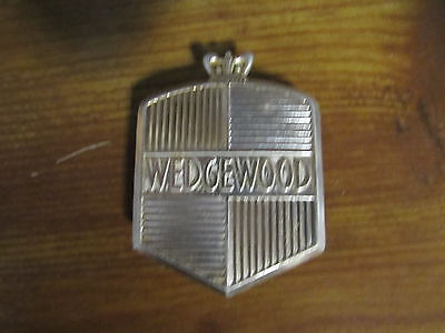 VINTAGE STOVE PARTS Wedgewood 50's Antique Gas Range Gold Nameplate