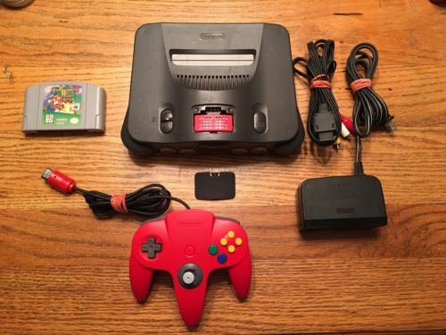 N64 Super Mario 64 Game & Nintendo 64 Console System