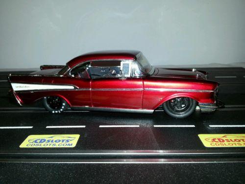 SLOT CAR 1957 Chevy 1:24 Car / SLOT CAR red