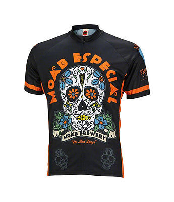 NEW World Jerseys Moab Brewery Especial Men's Cycling Jersey Black MD