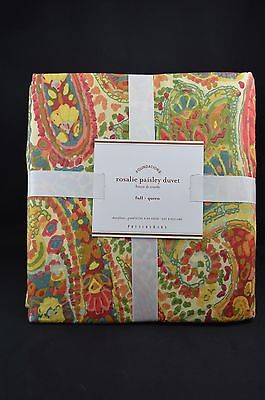 Pottery Barn Bella Paisley Duvet For Sale Classifieds