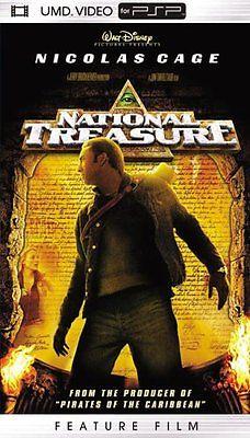 National Treasure - UMD Movie - Sony PSP