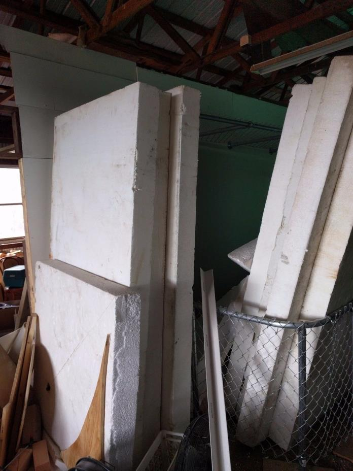 Foam board insulation, Styrofoam blocks, 4'x8'x5.75