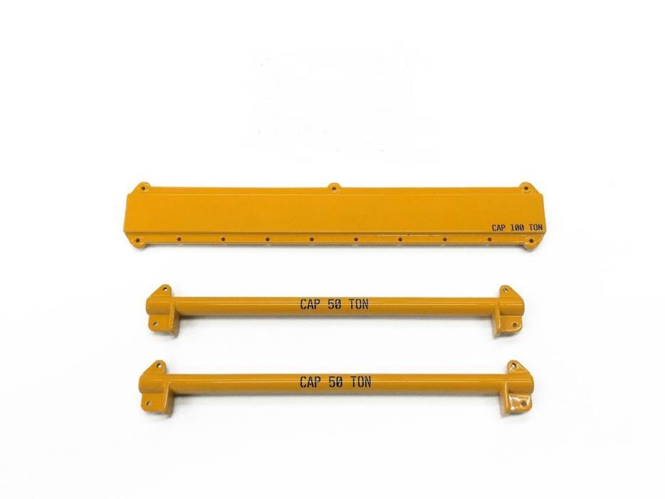 49pc Crane Rigging & Lifting Kit w/ Spreader Beams -
