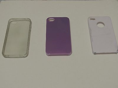 Lot of 5 iphone 4s Cases