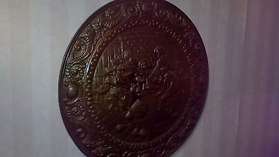 Vtg  Old Dutch large   Plate  Wall Decor