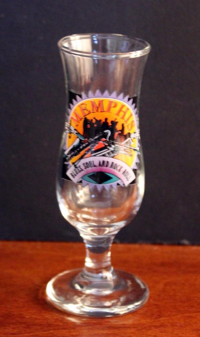 Memphis Tennessee Blues Soul and Rock Roll Shot Glass