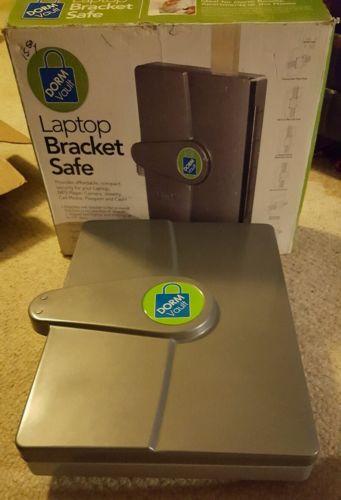 Laptop bracket safe dorm vault