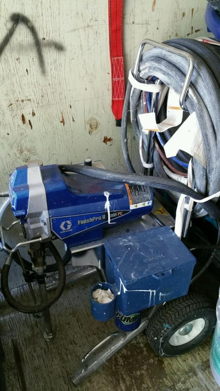 Graco paint sprayer 395 for sale classifieds for Paint sprayers for sale
