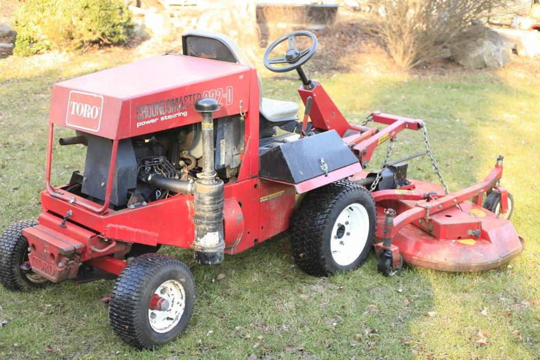 Toro Groundsmaster 322-D Mower 72