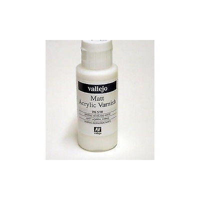 Vallejo Paints: Auxiliaries - Matte Varnish (60ml)