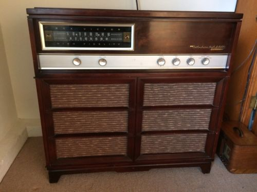 Vintage RCA.Victor Stereo Console