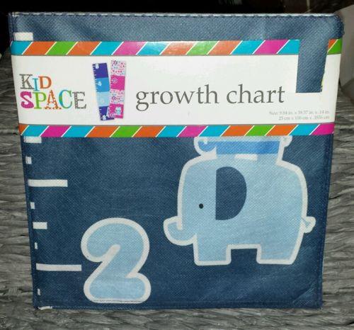 Nursery Owl Growth Chart Canvas Kid Space  Room Wall Decor
