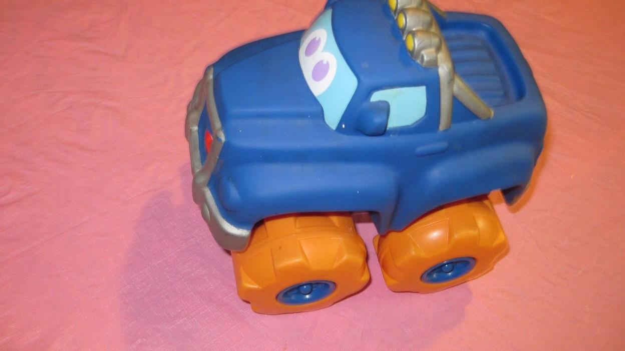Tonka Chuck and Friends  Squishy Big Rumbling Blue Truck