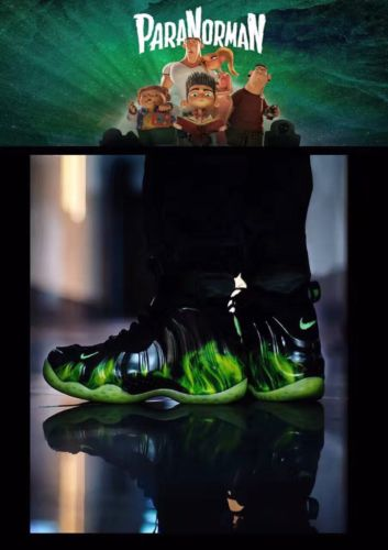 Paranorman Foamposite Nike Yeezy Sample Size 9.5