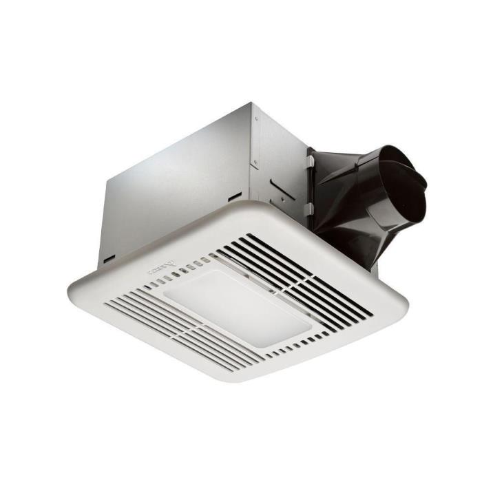 Hampton Bay Ultra Quiet Ceiling Ventilation Fan With LED Light