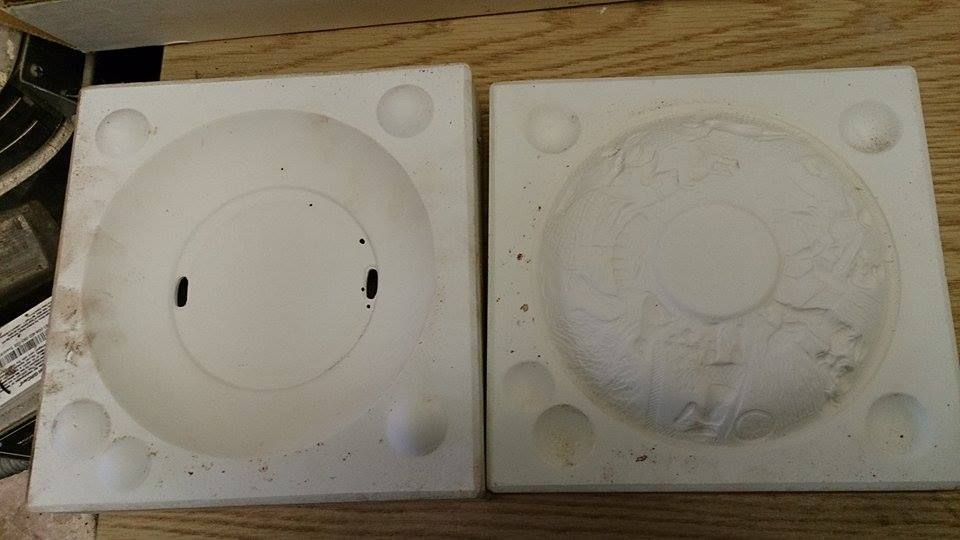Whitehorse 1040 Farm Plate Ceramic Mold