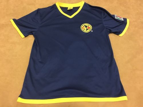 Club America Mexico Soccer Futbol Jersey Youth Large