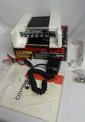 Vintage Royce CB 613 40 Channel Radio Mic Transceiver Original Box Manual Nice ?