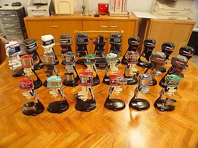 Complete Alterscale toy outboard motors collection, Mercury, Evinrude, Johnson