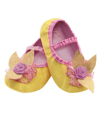 Belle Beauty And The Beast Disney Slippers Toddlers Costume Accessory