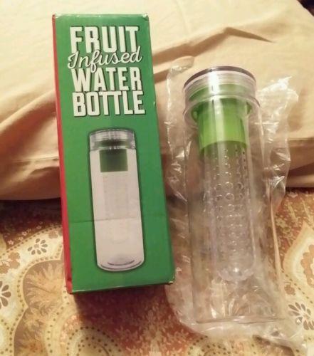 Infuser Water Bottle Detox Cleanse Health Vitamin Water Fruit Infused BPA Free