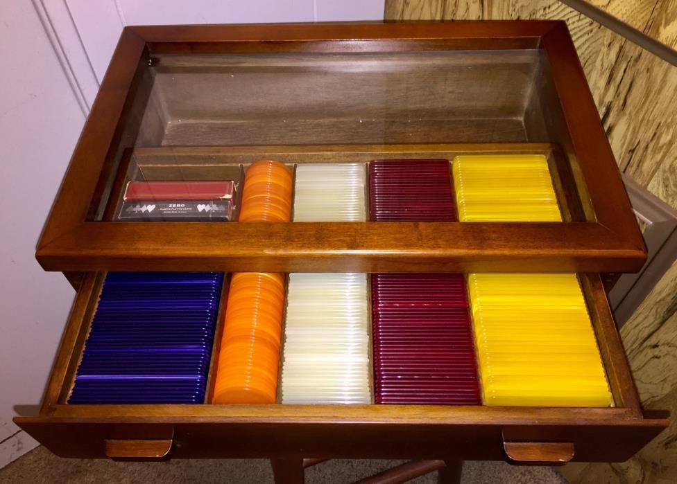 Museum Quality Rare Vintage Italian Antique Poker Chips / Plaques