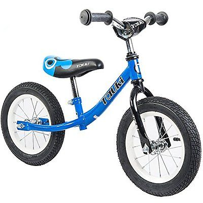 Tauki Kid Balance Bike No Pedal Push Bicycle, 12 Inch, 95% assembled