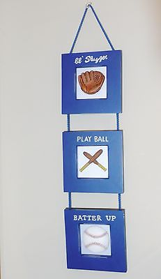 Baseball Wall Hanging - Wall Plaques - Mural - Decor