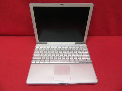 Apple PowerBook G4 A1010 Laptop/Notebook G4 1.00GHz 512MB RAM 40GB HDD