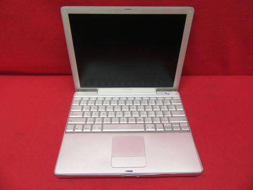 Apple PowerBook G4 A1010 Laptop/Notebook G4 1.00GHz 512MB RAM 40GB HDD