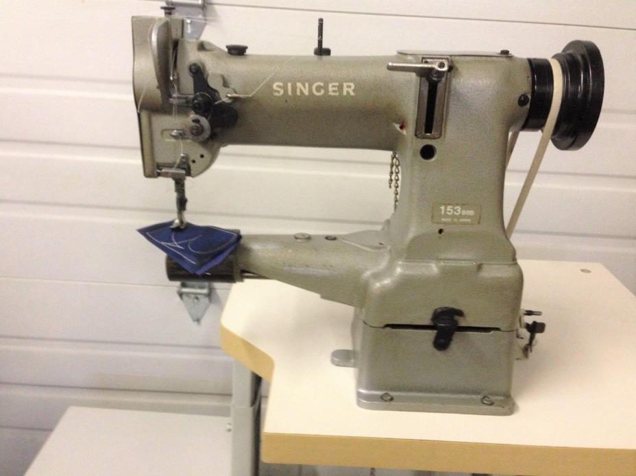 SINGER 153 B8B CYLINDER WALK FT REVERSE NEW 110V SERVO INDUSTRIAL SEWING MACHINE