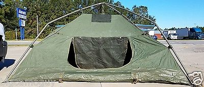 U.S Army 10x10 Soldier 4 Man Crew Tent. Perfect for Camping/Hunting
