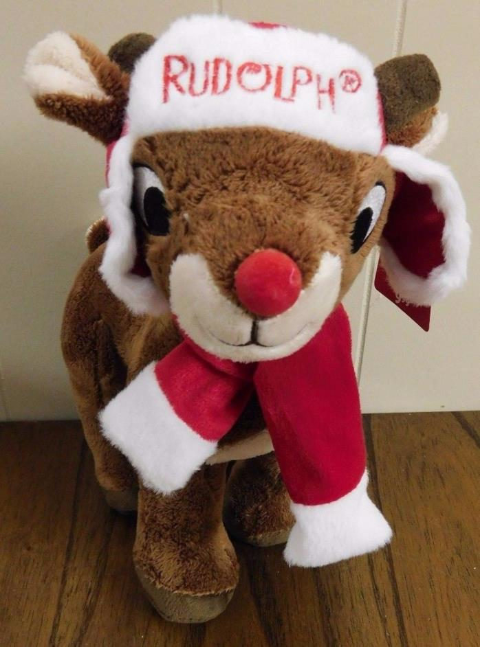 NEW Rudolph the Red Nosed Reindeer Plush 12