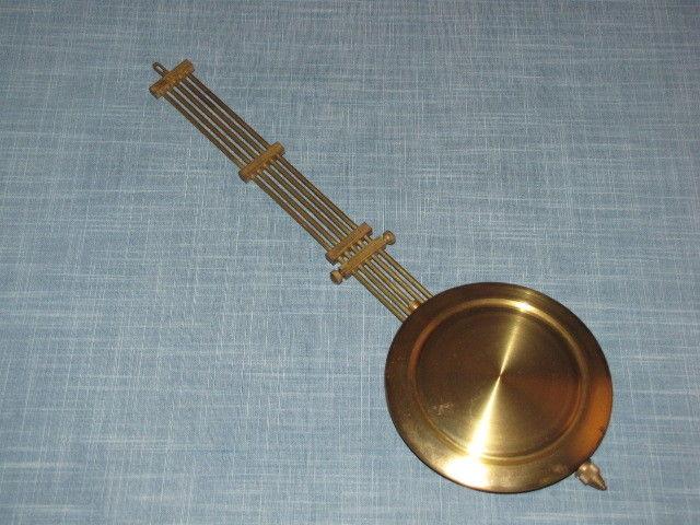 Vintage Wall Clock Pendulum