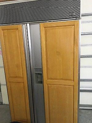 Sub Zero Refrigerator 690F with Panel