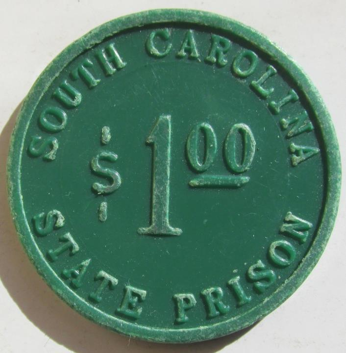 Columbia, SOUTH CAROLINA STATE PRISON Good for $1 trade oken