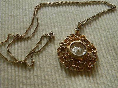 Vintage Clebar Swiss Pendant Watch 17 jewels