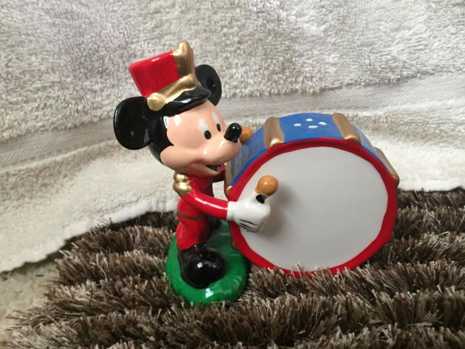 Mickey Mouse Drummer Salt and Pepper shakers