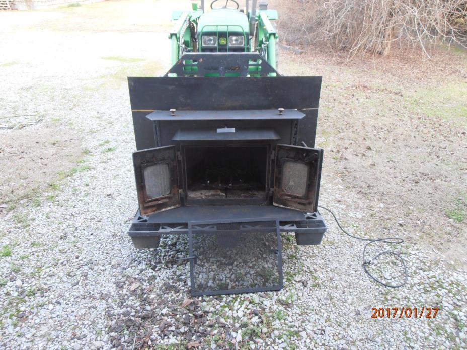 Little Buck Wood Stove Insert - Trim Kit  8 inches