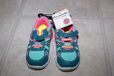 New Garanimals Girls Multicolored sneakers size 6 Toddler