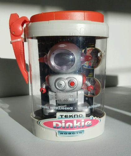 Tekno Dinkie Robot Vintage NEW