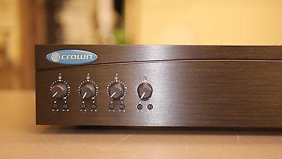 Crown Power Amplifier