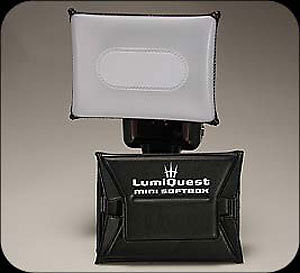 Lumiquest LQ-108 Mini Softbox for Shoe Mount Flashes