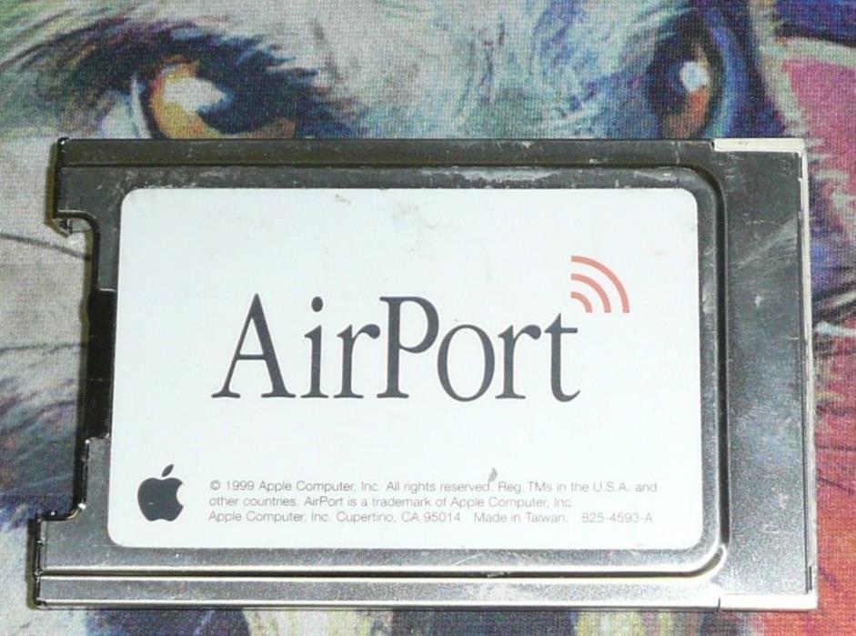 Original Apple AirPort WIFI Card 630-2883 64 bit iMac iBook G3 G4