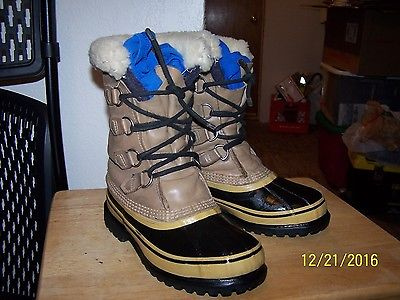 Sorel Caribou winter snow boots womens size 5 canadian arctic canada -40°F