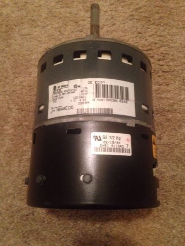 GE 2.5 ECM 1/2HP 120/240V Motor/Controller HD44RE120 CCW 1050RPM